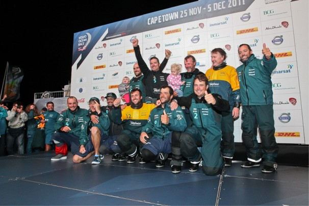 Photo of VOR 2011 – 2012 | Cape Town'a ilk Ulaşan:Team Telefonica