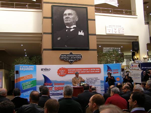 DenizMagazin.com | TÜYAP İstanbul Boat Show 2012