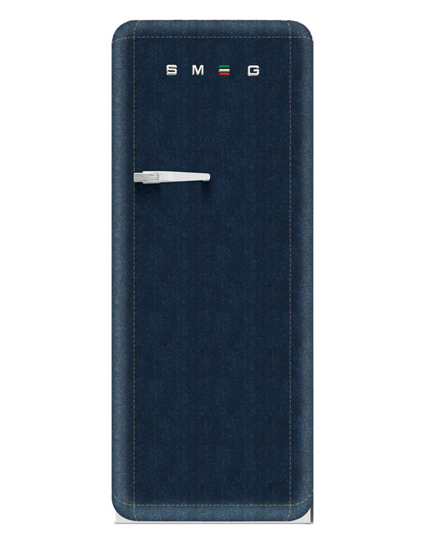 Photo of Çılgın İtalyan SMEG'den, jean kaplı buzdolabı…