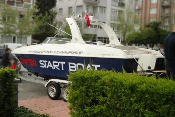 "Photo of SAFTER ""2012 WOC"" Start Boat Sponsoru Oldu"