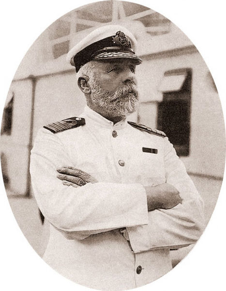 Edward Smith, Titanic'in Kaptanı, 1911 - Wikipedia.org