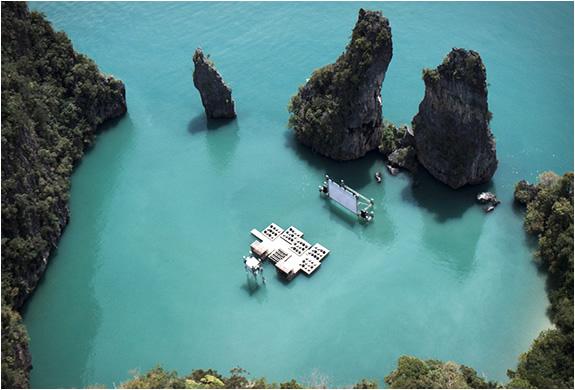 Photo of Tayland'daki Film Festivalinde Deniz Üstünde Sinema Keyfi