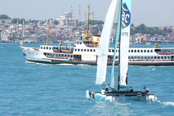 Photo of Extreme Sailing Series İstanbul Yarışları