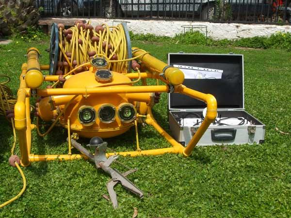 Photo of ROV (Remotely Operated Underwater Vehicle – Uzaktan Kumandalı Su Altı Aracı)