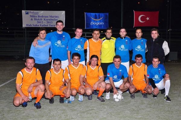 Photo of Milta Bodrum Marina 2012-2013 Halı Saha Futbol Turnuvası Başladı