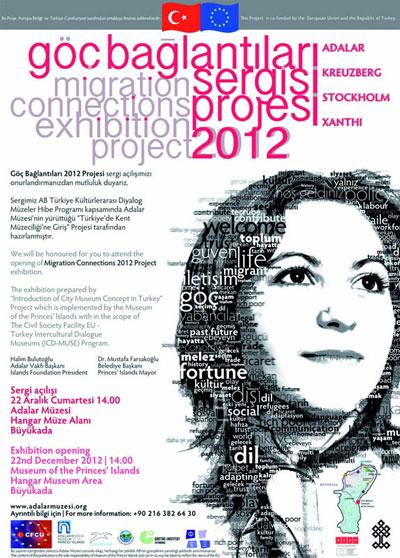 """Photo of Adalar Müzesi'nden """"Göç Bağlantıları 2012 Projesi Sergisi"""""""