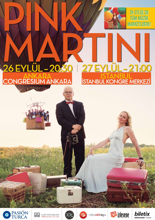 Photo of Pink Martini Eylül'de Türkiye'de