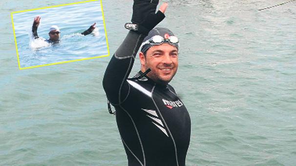 Photo of İç savaşa karşı 5 gün yüzecek