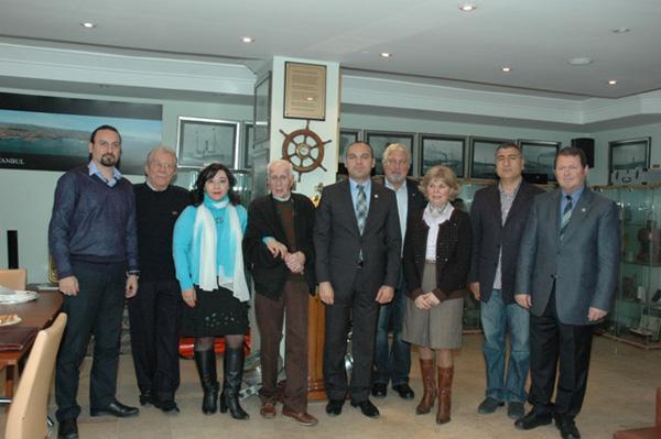 Photo of Romen Ulusal Kanalı TVR1 TÜRKAPDER'i Ziyaret Etti