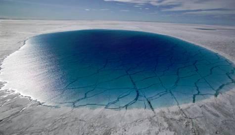 Photo of 'Grönland 100 milyar ton su saklıyor'