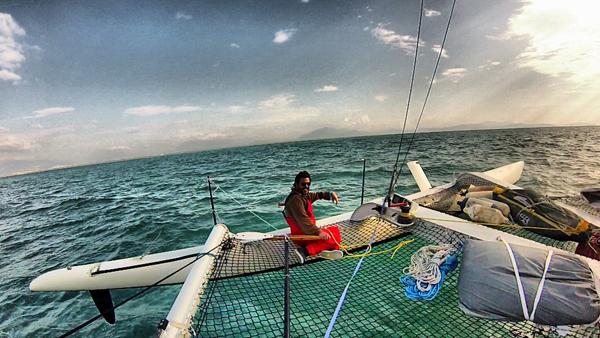 Photo of Edhem Dirvana'nın Trimaran İle 1300 Deniz Mili