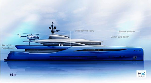 Photo of Dörries Yachts 65 metre Konsept Süperyatını Duyurdu