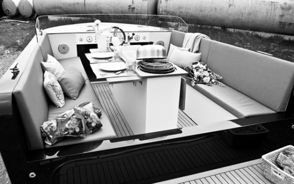 The world's first luxury electric yacht comes with a barbecue, chilled wine storage and more