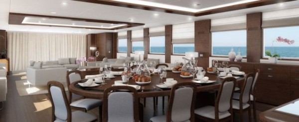Majesty 155 super yacht by Gulf Craft