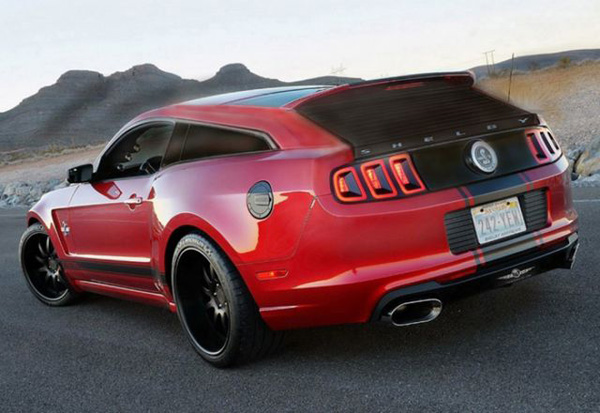Photo of Strand Craft'tan Shelby GT500 Super Snake Wagon