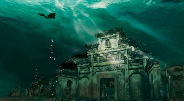 Photo of Çin'de Bir Su Altı Şehri