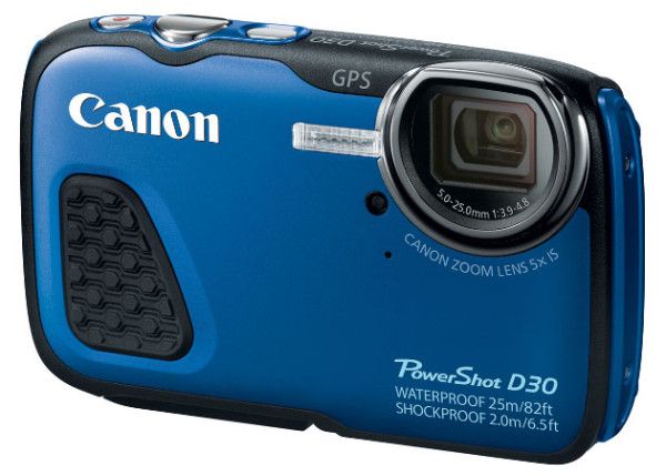 Photo of Canon PowerShot D30