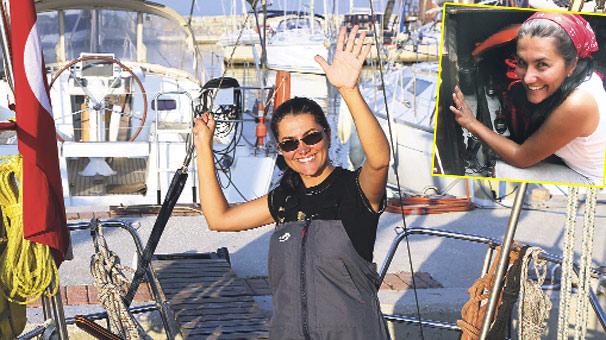 Photo of Atlantik'i geçen ilk Türk kadını olacak