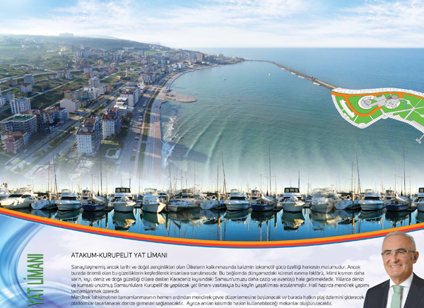 Photo of Atakum'a Yat Limanı Yapılacak