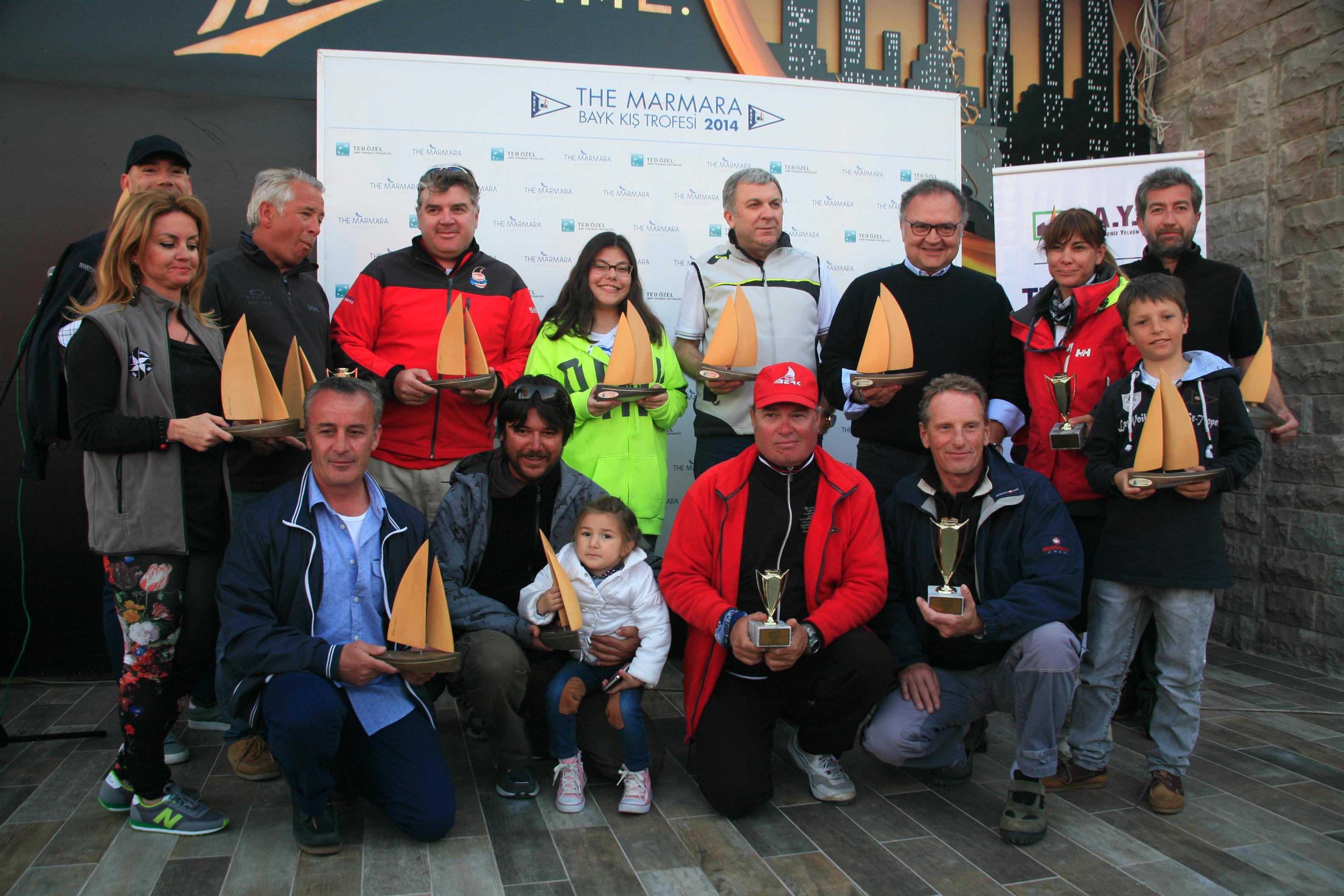 Photo of The Marmara BAYK Kış Trofesi 5. Ayak Yarışları sona erdi
