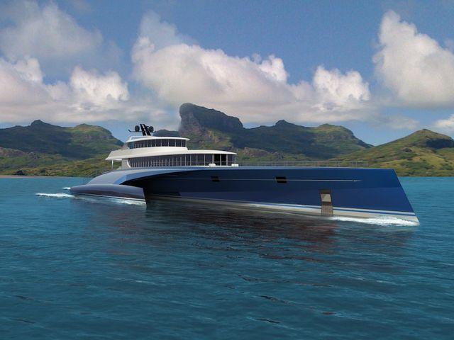 Photo of Blue Coast Yachts'tan 60mt Trimaran