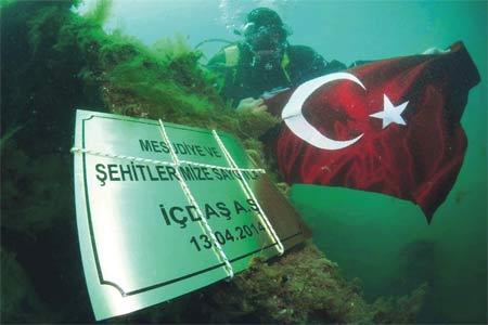 Photo of Mesudiye Su Altında Anıldı