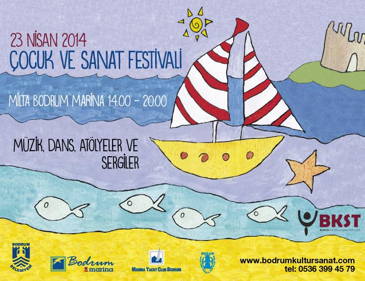 Photo of 23 Nisan Bodrum Uluslararası Çocuk ve Sanat Festivali