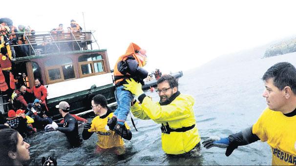 Photo of Ege'de gönüllü cankurtaran birliği