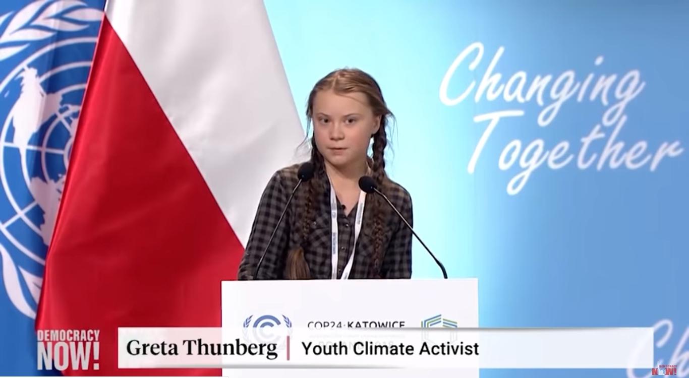 Photo of BM İklim Zirvesi'ne 15 Yaşındaki Aktivist Greta Thunberg'in konuşması damgasını vurdu
