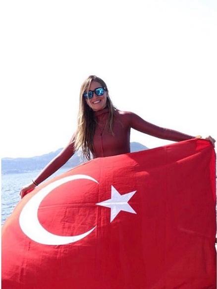Photo of Şahika Ercümen, Antarktika'da da Türk bayrağını dalgalandıracak.